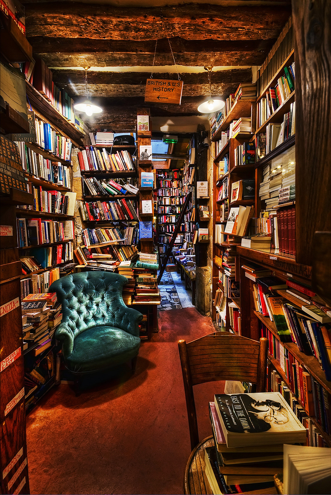 My favorite bookstore: Shakespeare & Company, Paris